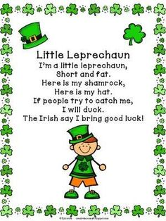 St. Patrick's Day Poems 29