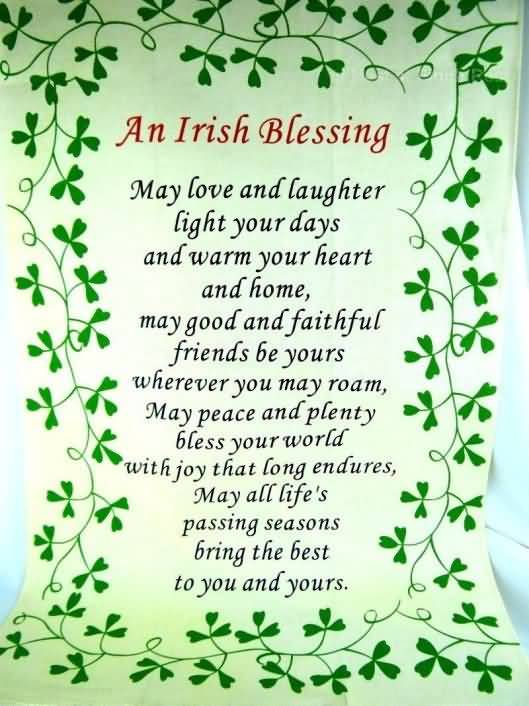 St. Patrick's Day Poems 30