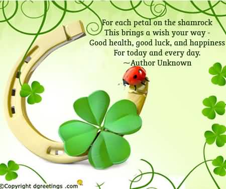 St. Patrick's Day Quotes 19