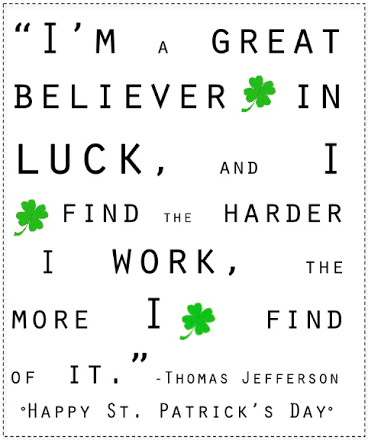 St. Patrick's Day Quotes 25