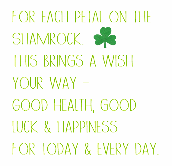 St. Patrick's Day Wish 20