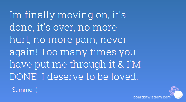 Finally Its Over Quotes Image 15