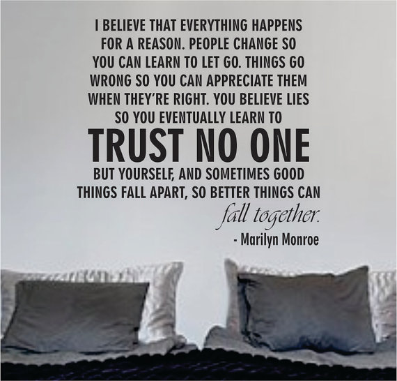 Love Them All But Trust No One Quotes Image 03