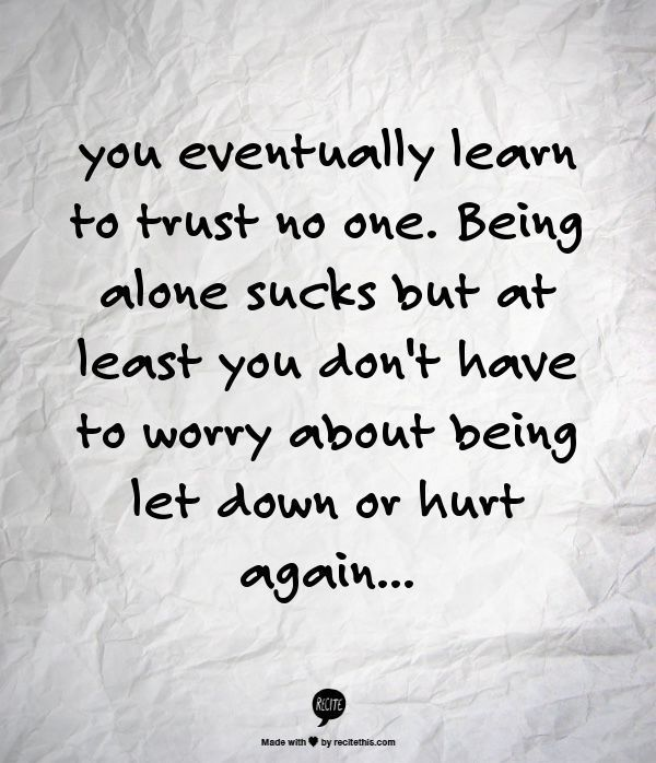 Love Them All But Trust No One Quotes Image 09