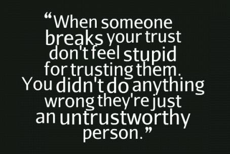 Love Them All But Trust No One Quotes Image 10