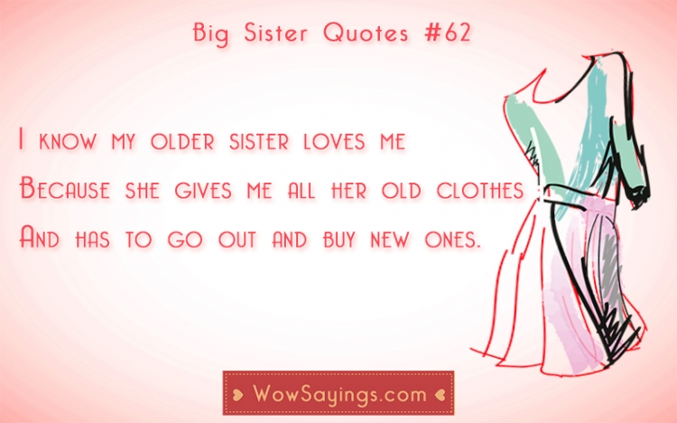 Quotes About Little Sisters And Big Sisters Image 04
