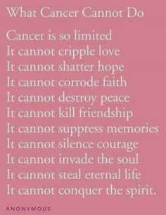 Quotes Of Losing A Loved One To Cancer Best Quote 2017