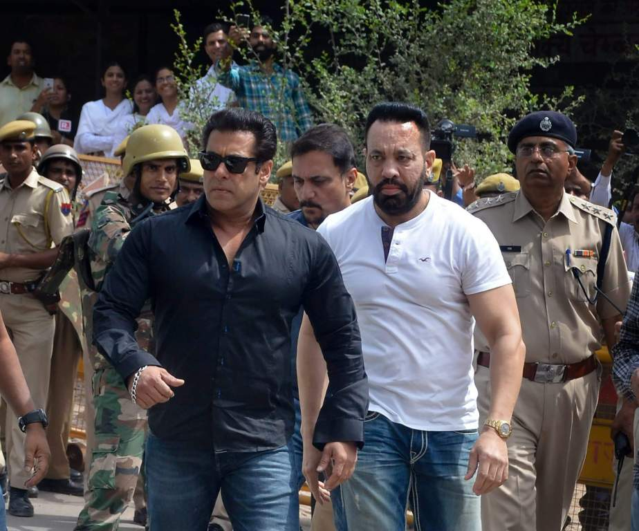 Salman Khan Jail With Shera