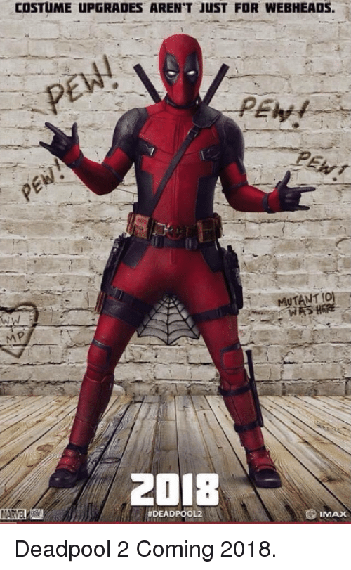 Deadpool 2 Meme Image 11