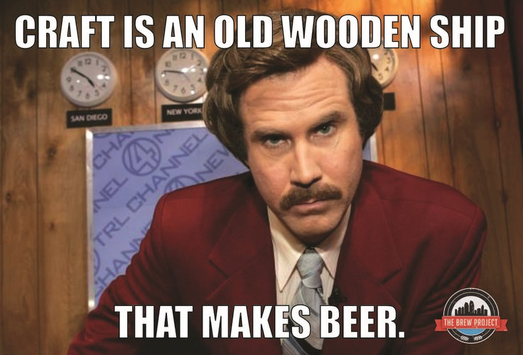 Craft Beer Meme Craft Is An Old Wooden Ship Picture