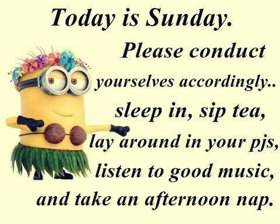 Today Is Sunday Please Conduct