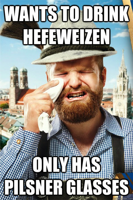 Wants To Drink Hefeweizen Only Has Craft Beer Meme Image