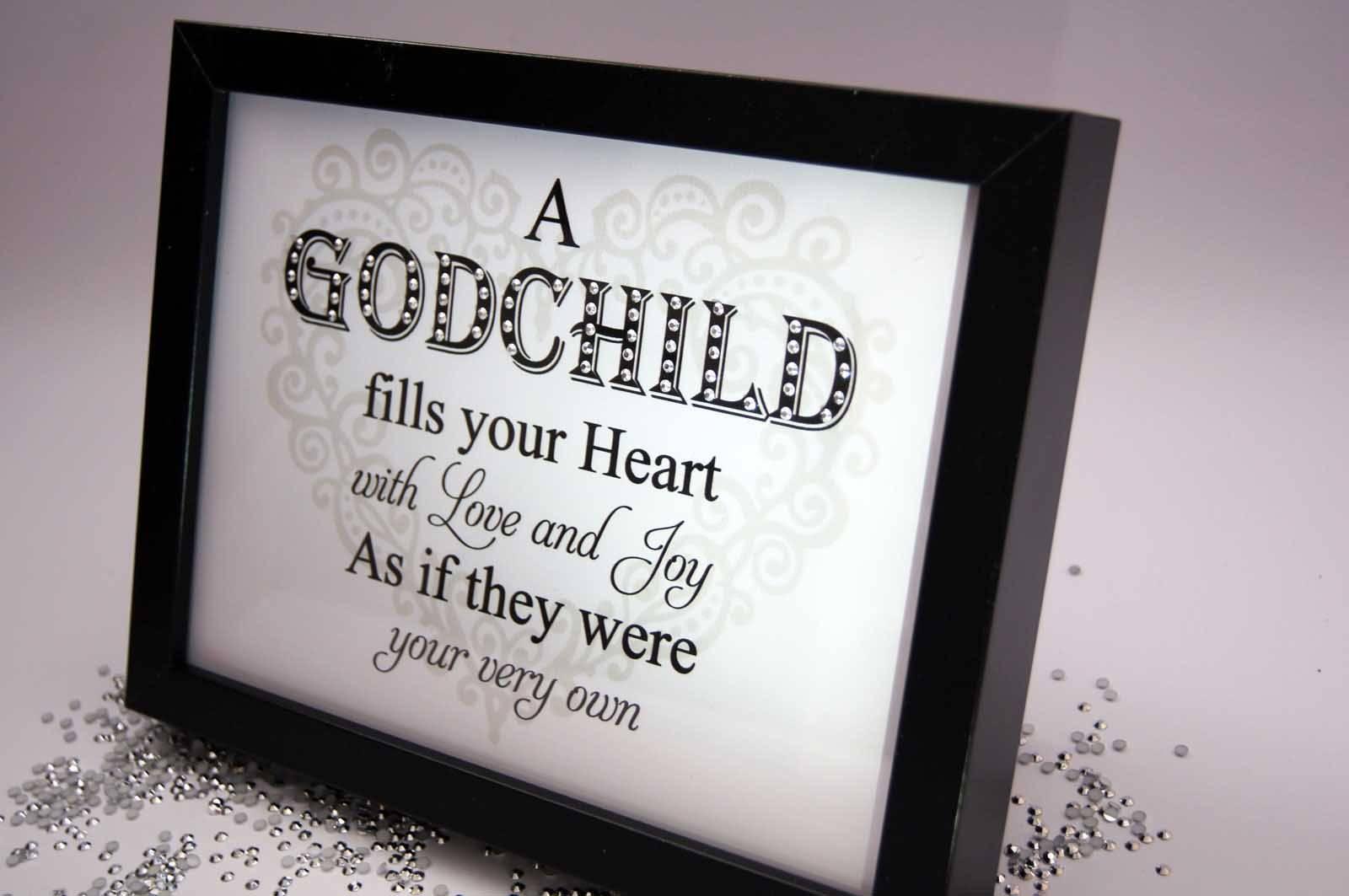 A Godchild Fills Your