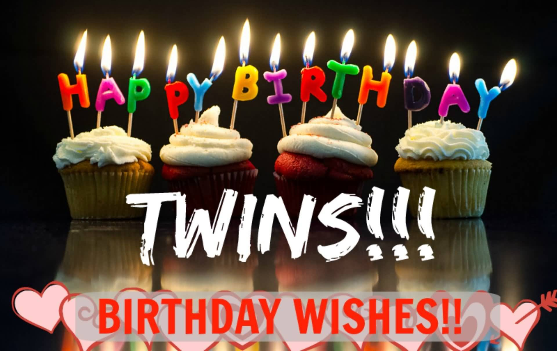 Birthday Wishes For Twins Images Happy Birthday Twings Wishes