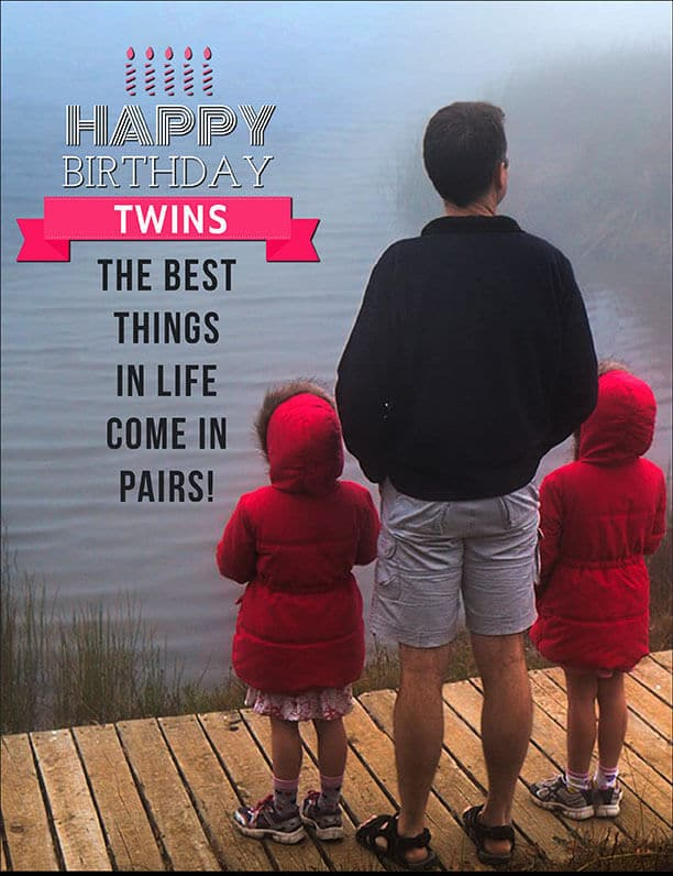 Birthday Wishes For Twins Images Happy Birthday Twins The