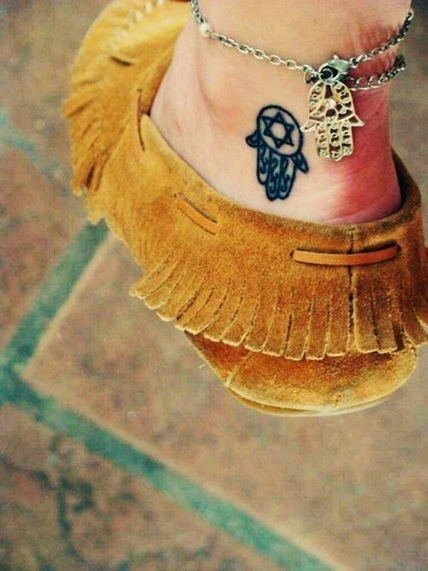 Elegant Ankle Tattoos Picture