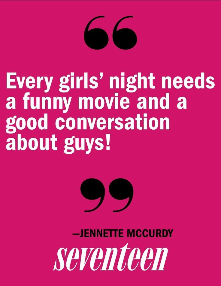 Every Girls' Night Needs Funny Ladies Night Quotes