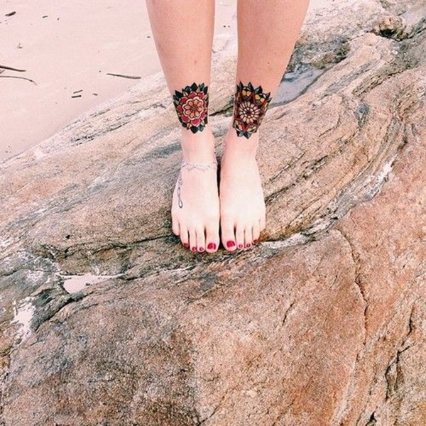 Exclusive Ankle Tattoos Picture