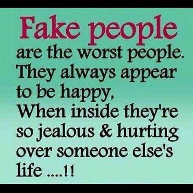 Fake People Are The Fake Relatives Quotes