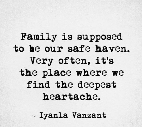 Family Is Supposed To Be Fake Family Quotes