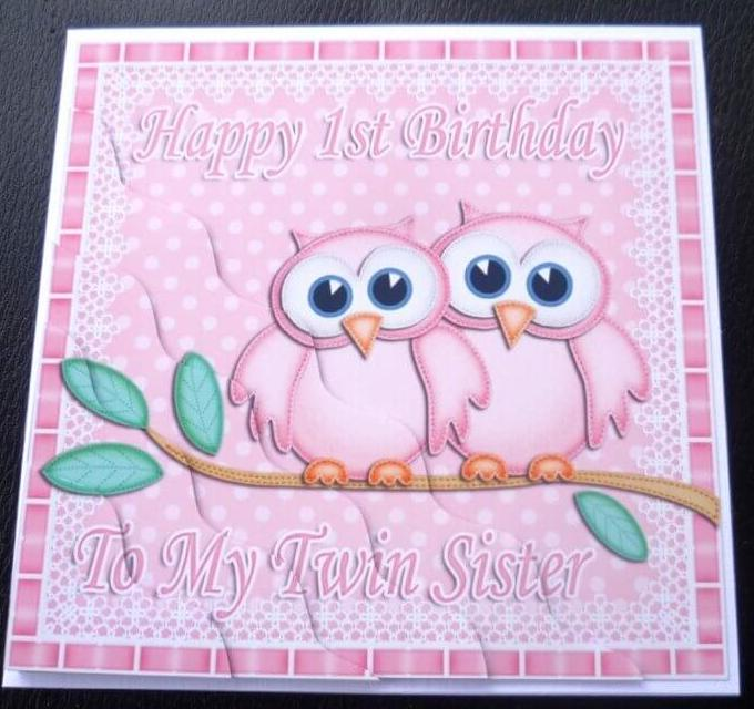 Happy 1st Birthday To Birthday Wishes For Twins Images