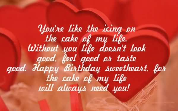 Happy Birthday Images For Husband Free Download You're Like The Icing
