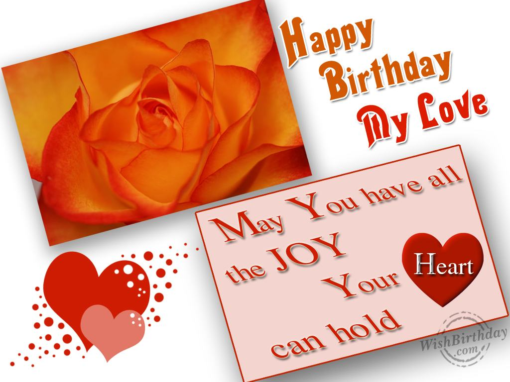 Happy Birthday My Love Happy Birthday Wishes For Husband Images Free Download