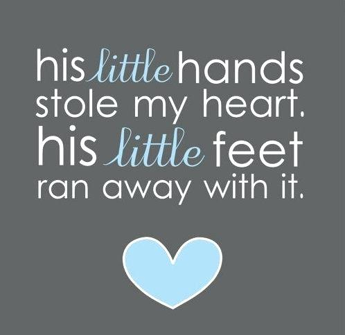 His Little Hands Stole My I Love My Nephew Quotes And Sayings