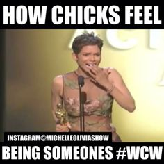 How Chicks Feel Being Clever Wcw Captions