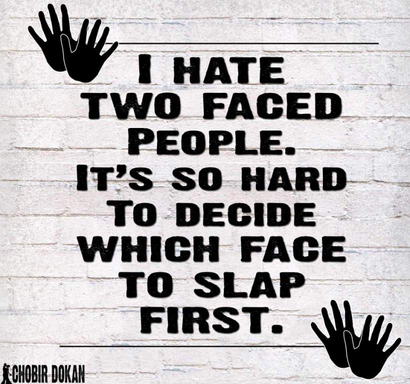 I Hate Two Faced Fake Relatives Quotes