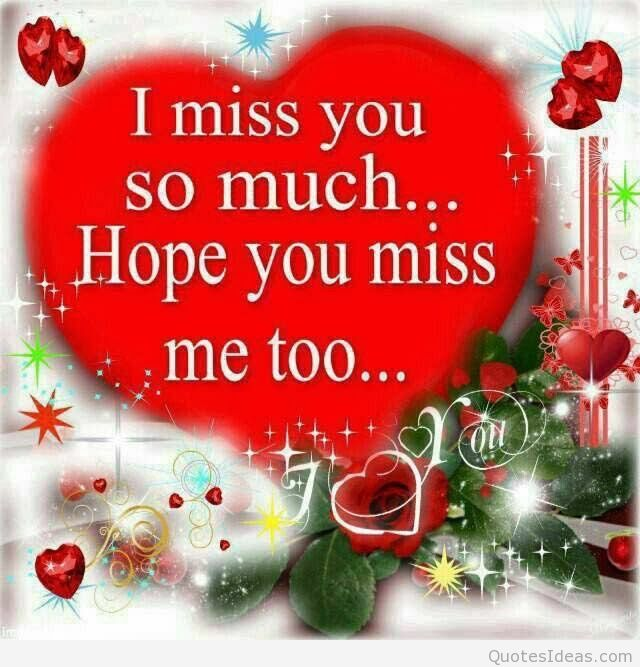 I Miss You So Much Miss U Wallpaper For Boyfriend