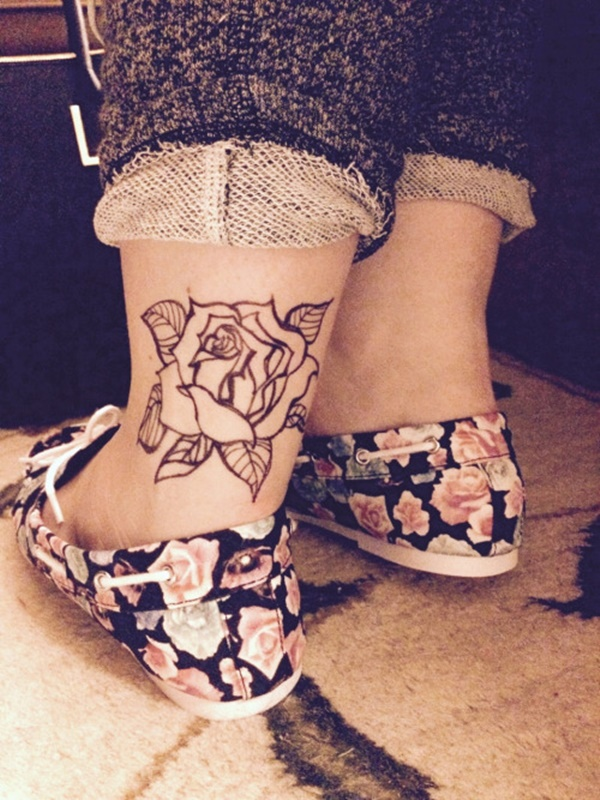 Incredible Ankle Tattoos Image