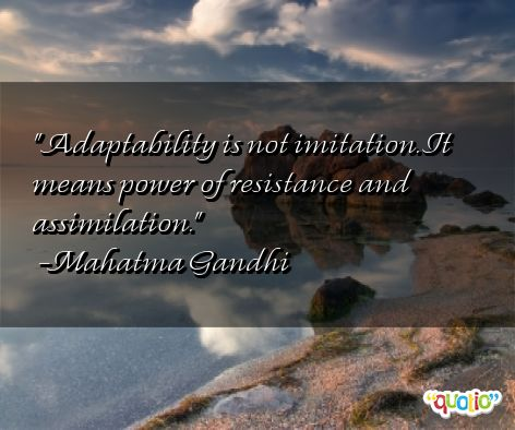 Inspirational Adaptability Quotes