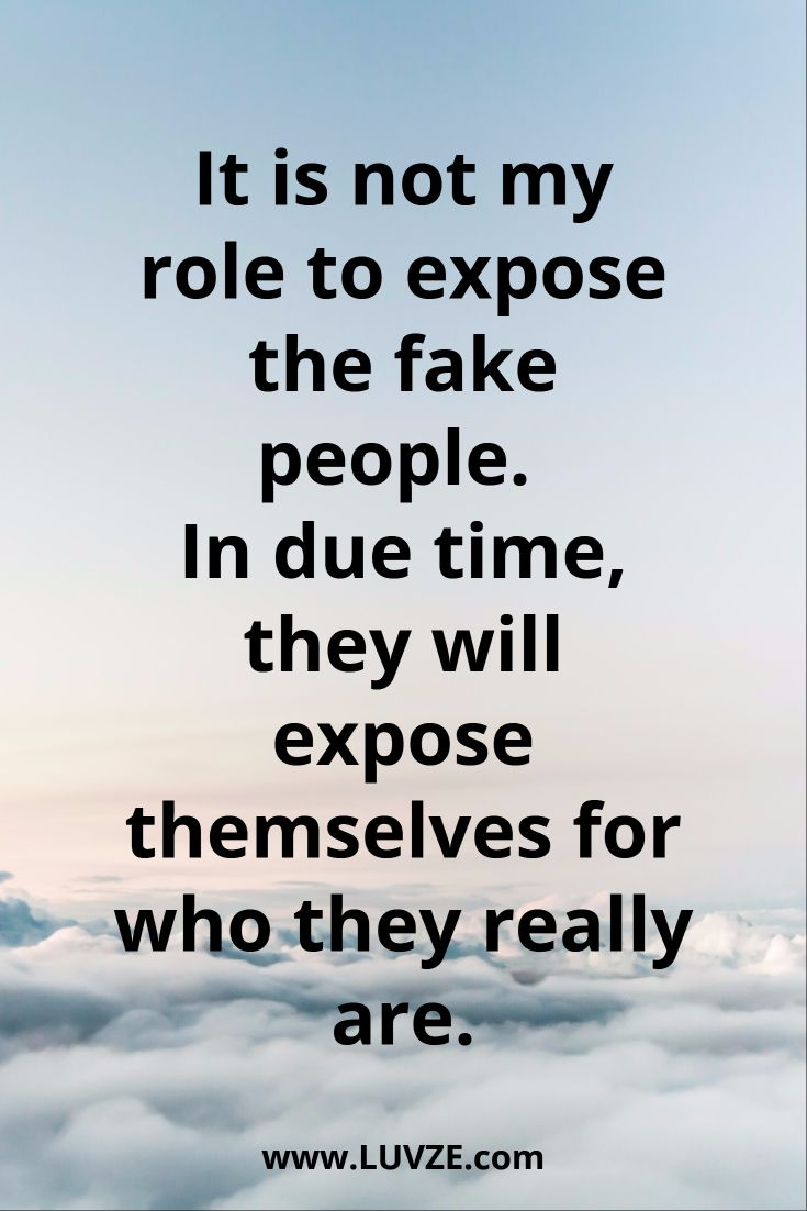 It Is Not My Role Fake Family Quotes