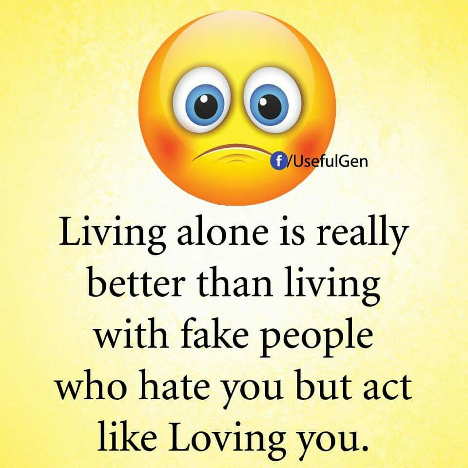 Living Alone Is Really Emoji Quotes About Life