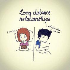 Long Distance Relationships Miss U Wallpaper For Boyfriend