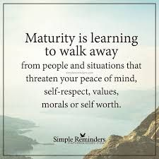 Maturity Is Learning To Walk Fake Family Quotes