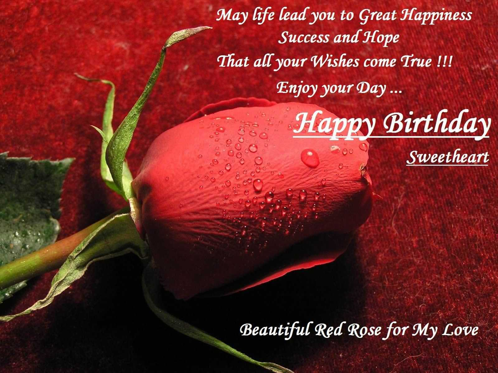 May Life Lead You To Happy Birthday Wishes For Husband Images Free Download