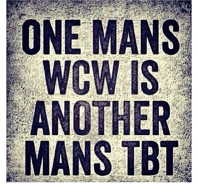 One Mans Wcw Is Clever Wcw Captions