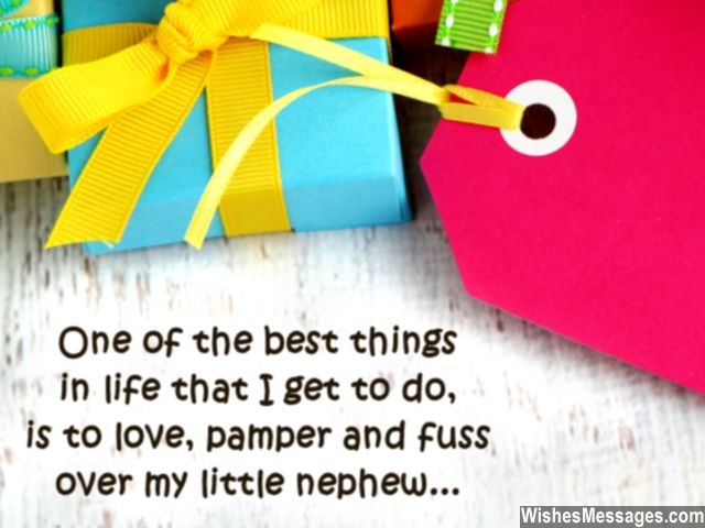 One Of The Best Cute Nephew Quotes