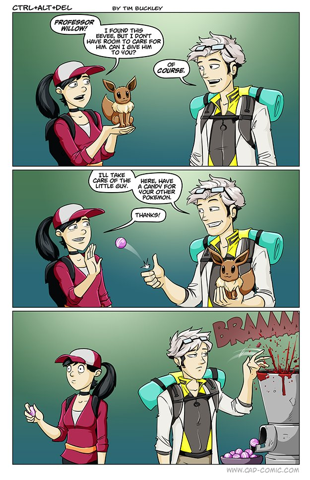 Pokemon Go Memes Professor Willow! I Found This Eevee