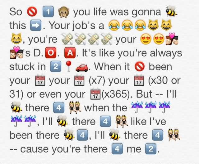 So You Life Was Emoji Quotes About Life