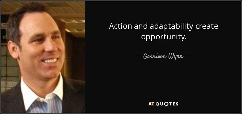 Unique Adaptability Quotes