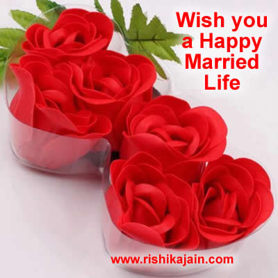 Wish You A Happy Happy Married Life Wishes Images Download