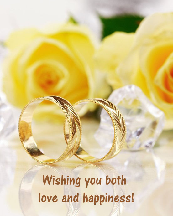 Wishing You Both Love Wedding Wishes Images Free Download