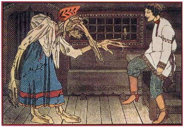 Baba Yaga of Slavic Folklore