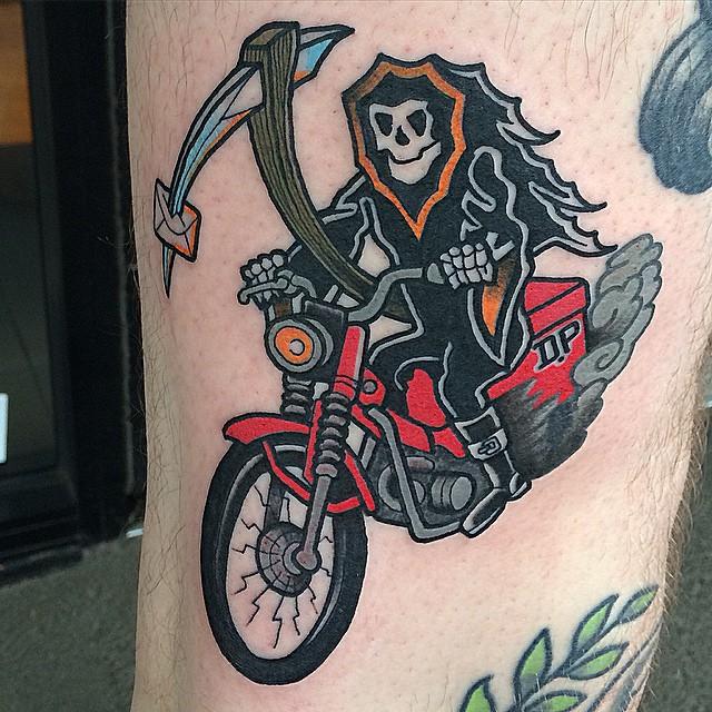 Biker Tattoo 03