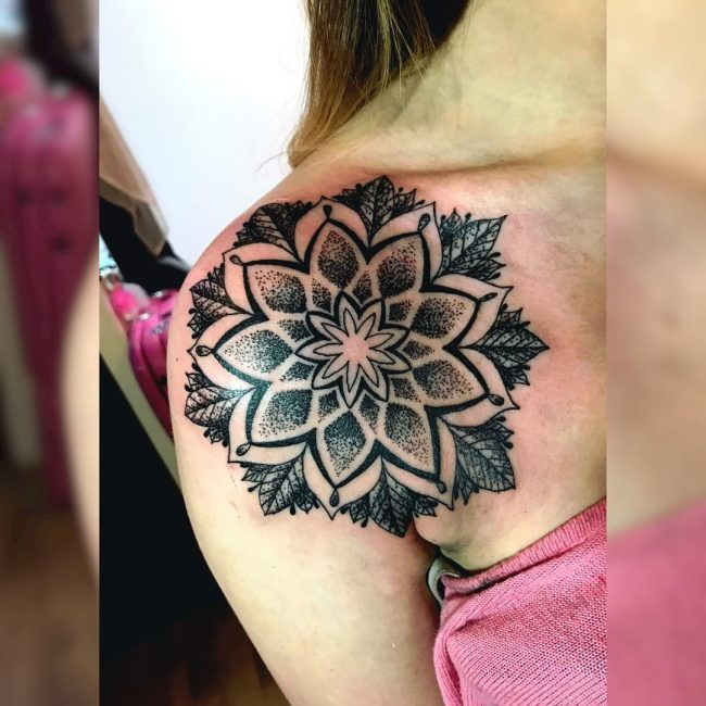 Black and Grey Tattoo 02