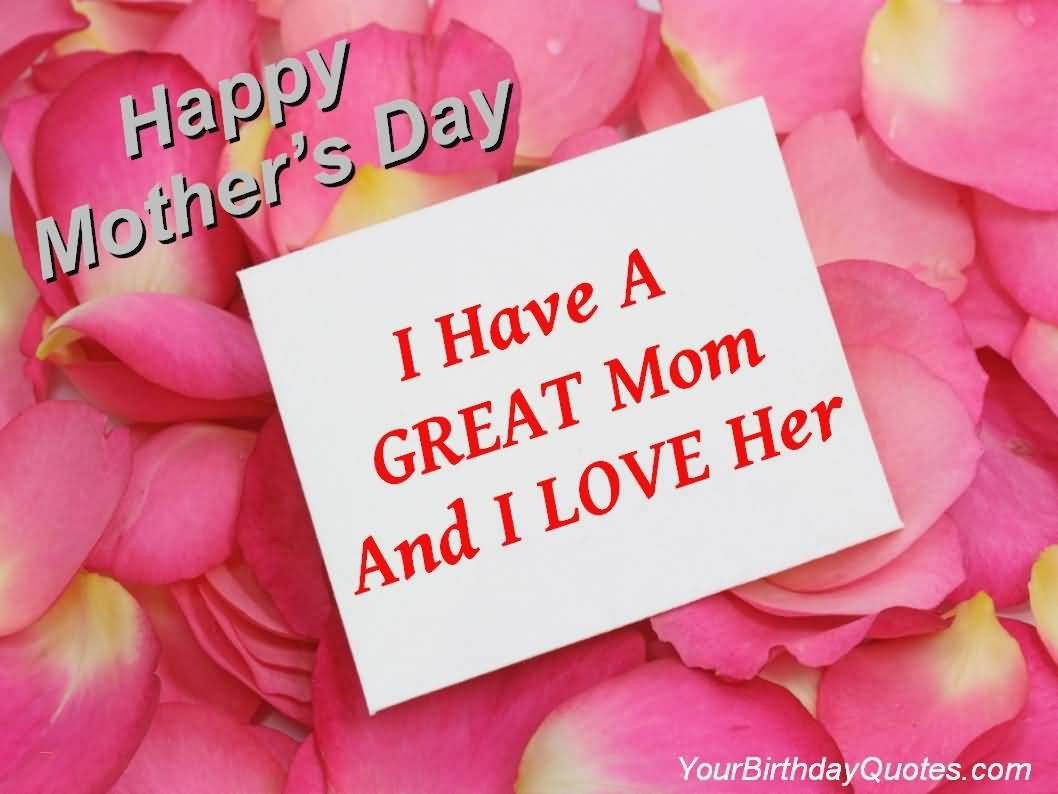 Happy Mother's Day I Mommy to Be Quotes
