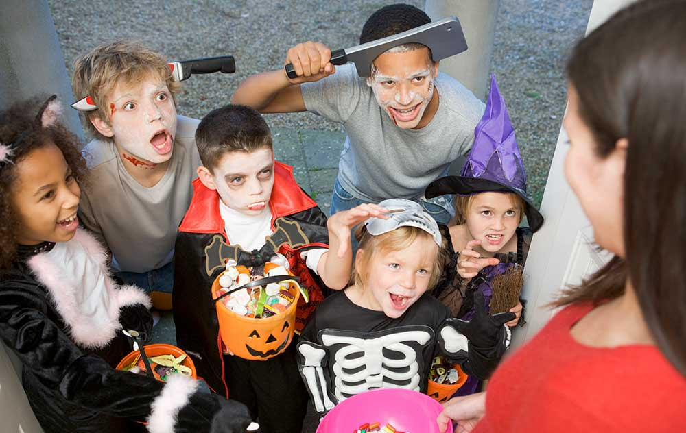 Horror themed events trick or treaters